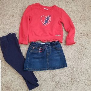 Hudson jeans 3 piece outfit